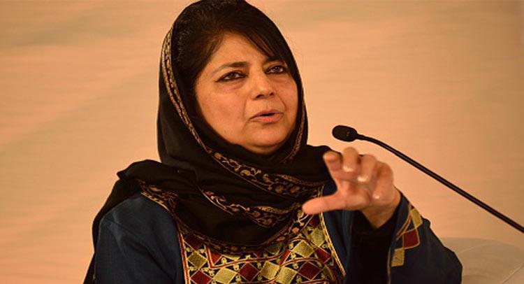 सीएम महबूबा ने कहा- सीमा पर गोलीबारी व घुसपैठ बंद करे पाकिस्तान