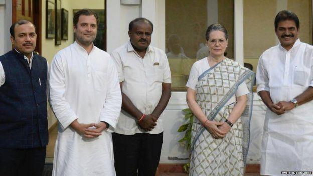 बड़ीखबर: कर्नाटक में कांग्रेस ने मांगे डिप्टी सीएम के दो पद, जदएस ने साधी चुप्पी