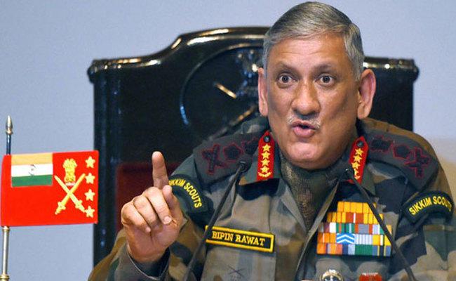सेना प्रमुख बोले-कश्मीरी युवा भूल जाएं 'आजादी', आप सेना से नहीं लड़ पाओगे