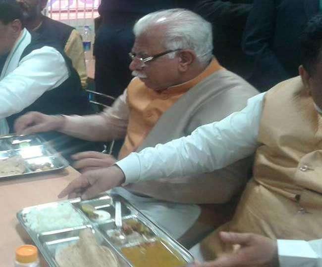 हरियाणा: CM निवास की किचन में लगा राजनीति का तड़का