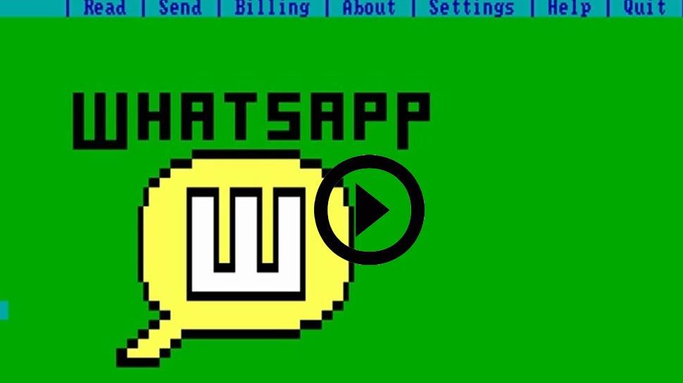 वीडियो: 80 के दशक में भी चलता था Whatsapp, देखिए कैसे भेजे जाते थे मैसेज