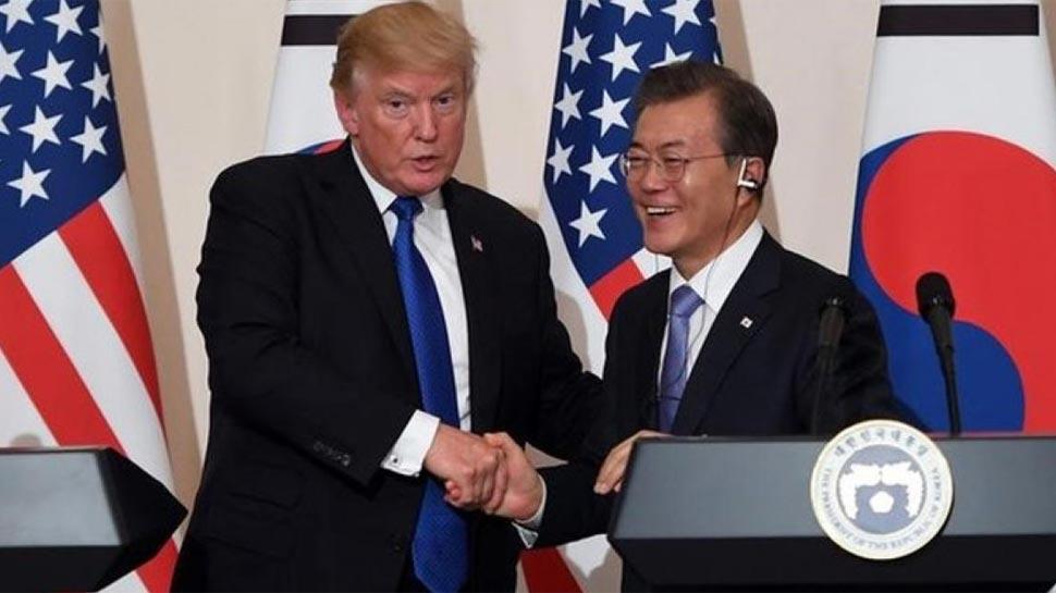 किम से पहले 22 मई को दक्षिण कोरियाई राष्ट्रपति की मेजबानी करेंगे डोनाल्ड ट्रंप