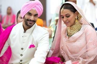 बड़ा खुलासा: बॉलीवुड एक्ट्रेस नेहा धूपिया ने गुपचुप तरीके से कर ली शादी, गवाह है ये तस्वीरें