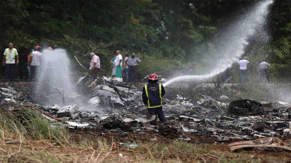 अभी अभी : क्यूबा में उड़ान भरते ही बोइंग-737 विमान हुआ क्रैश, 100 से अधिक लोगों की हुई मौत