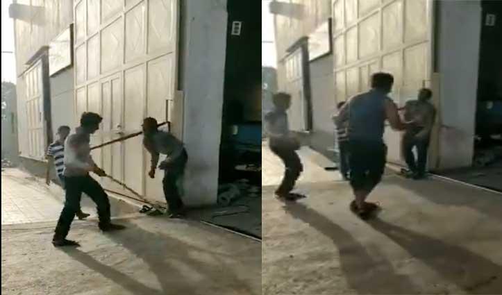 गुजरात में एक फैक्ट्री मालिक की पिटाई से दलित की मौत, वायरल हुआ वीडियो