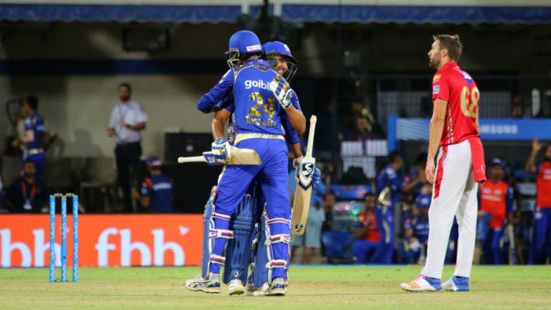 IPL 2018: ...तो इस वजह से मुंबई को मिली जीत, पंजाब को हराकर प्लेऑफ की उम्मीदों को रखा जिंदा