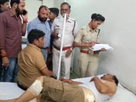 MP के जावरा में मंडी व्यापारी को लूटने का प्रयास, लोगों ने पकड़ा दो लुटेरों को