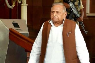 मुलायम सिंह यादव ने रिसीव किया SC द्वारा बंगला खाली करने का नोटिस