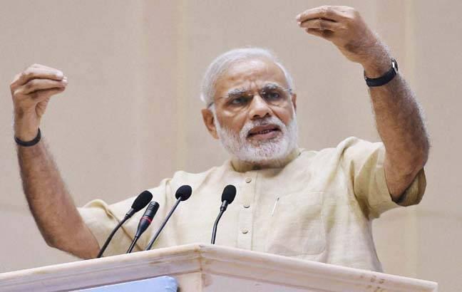 प्रधानमंत्री नरेंद्र मोदी ने भ्रष्टाचार को लेकर कांग्रेस पर जमकर बोला हमला...