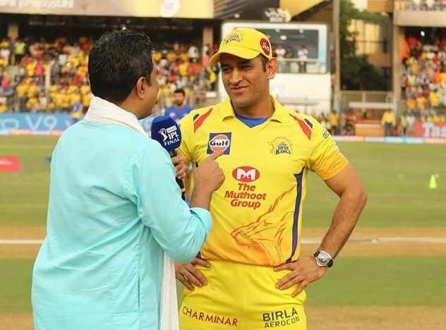 IPL फाइनल : टॉस के दौरान धोनी-मांजरेकर ने की ऐसी बातचीत, सुनते ही हो जाएंगे लोटपोट