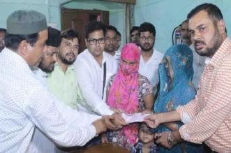 मुस्लिम लीग ने किशोरी को दिया पांच लाख का चेक, साबिर गफ्फार ने कही ये बात...