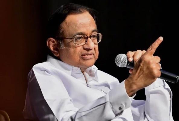 मोदी सरकार के 4 साल के जश्न पर भड़के कांग्रेस नेता चिदंबरम, गिनाई कमियां