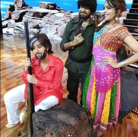 जब शिल्पा शिंदे ने 'सांबा' बनकर दर्शकों को किया मनोरंजन