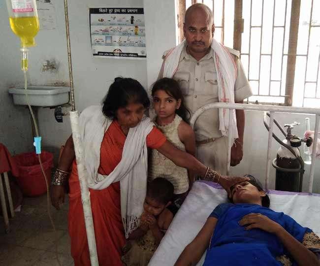 UP में पत्नी और दो बेटियों को गट्ठर में बांध सड़क किनारे फेंका