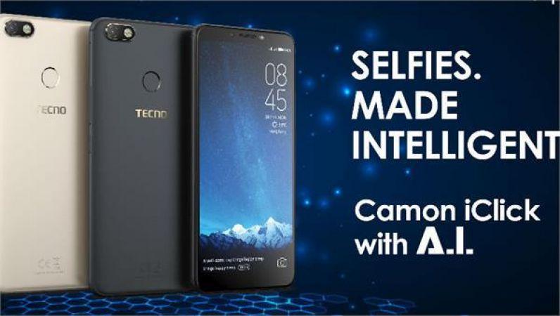 भारतीय बाजार में लॉन्च हुआ TECHNO का CAMON ICLICK स्मार्टफोन