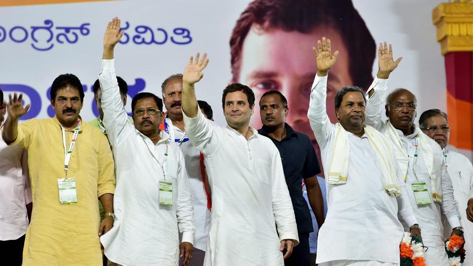 कर्नाटक में सत्ता भागीदारी पर राहुल गांधी नेताओं संग आज करेंगे विचार-विमर्श
