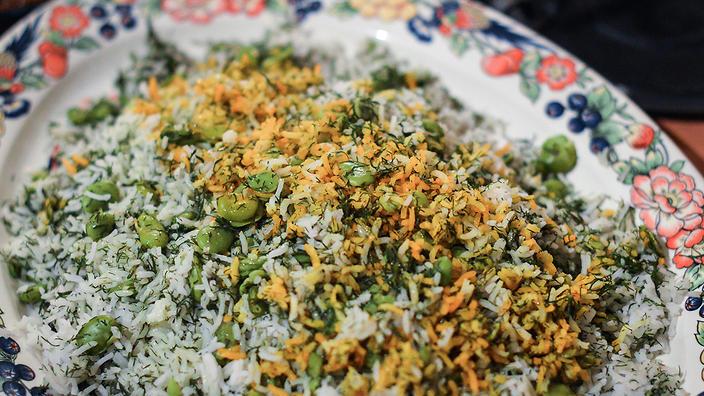 ऐसे बनाइए पारसी डिश, फावा बीन्स पुलाव