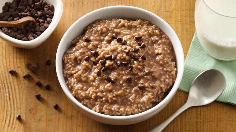 Breakfast में बनाएं टेस्टी एंड हैल्दी चॉकलेटी ओट्स
