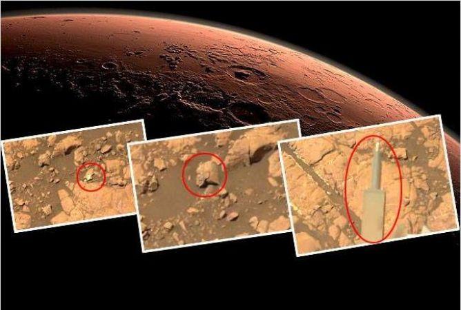 मंगल पर वैज्ञानिकों को मिली हैरतअंगेज़ तस्वीर
