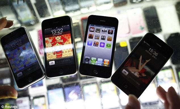 pirated apple phone