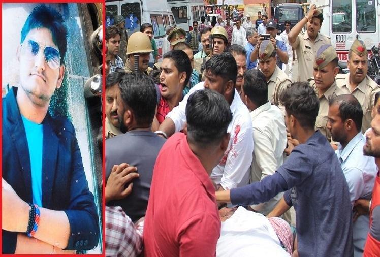 एक बार फिर सुलगा सहारनपुर, भीम आर्मी के कार्यकर्ता की हत्या के बाद सदमे में पूरा परिवार