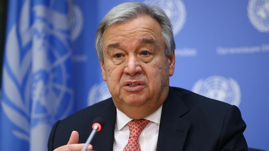 अफगानिस्तान में हुए आतंकी हमले को लेकर संयुक्त राष्ट्र प्रमुख ने जताई नाराजगी