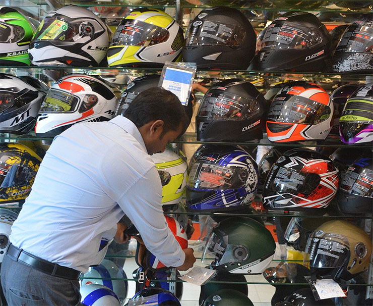 # Big news: To create helmets without ISI markers, sellers will have 2 years of jail