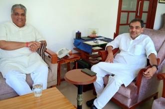 बीजेपी के प्रभारी भूपेंद्र यादव से उपेंद्र कुशवाहा ने की मुलाकात, लोकसभा चुनाव को लेकर हुई चर्चा