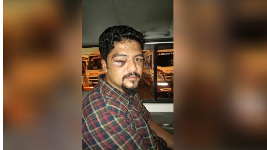 मुंबई में पत्रकार और उसके दोस्त पर 4 अज्ञात हमलावरों ने किया हमला