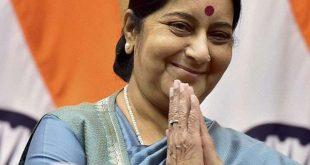 26 मार्च को विदेश मंत्री सुषमा करेंगी चुनाव अभियान का आगाज