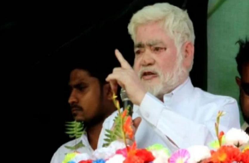 चुनाव प्रचार के दौरान RJD विधायक ने दिया विवादित बयान, आतंकी मसूद को कहा 'साहब'