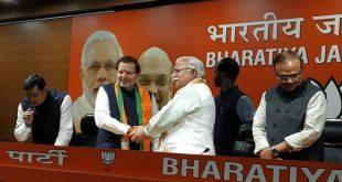 अरविंद शर्मा ने थामा BJP का दामन, इस जगह से लड़ सकते है चुनाव