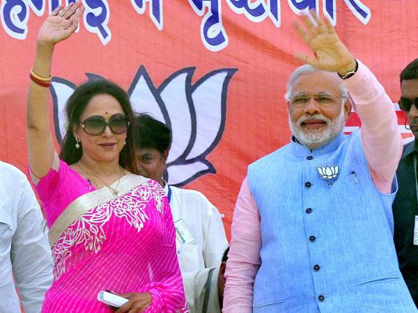 भाजपा सांसद हेमा मालिनी का बड़ा बयान, मोदी के अलावा किसी और का सत्ता में आना देश के लिए खतरा