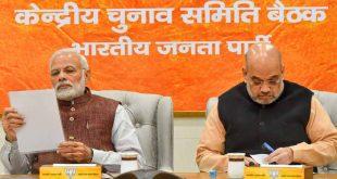 लोकसभा चुनाव 2019ः भाजपा ने नौवीं सूची की जारी, इन प्रत्याशियों को मिला टिकट