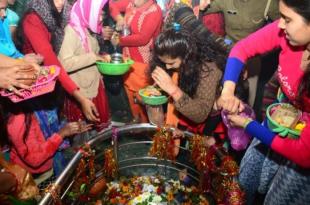 महाशिवरात्रि पर शिवालयों में गूंजे बम बम भोले के जयकारे, भक्तों ने किए शिवमंदिरों के दर्शन