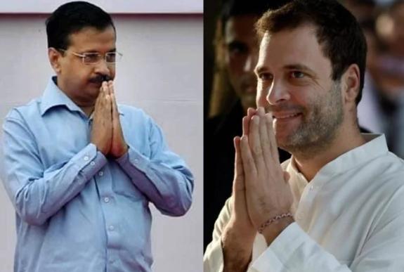 लोकसभा चुनाव: आप से गठबंधन पर आज अंतिम फैसला लेंगे राहुल गाँधी