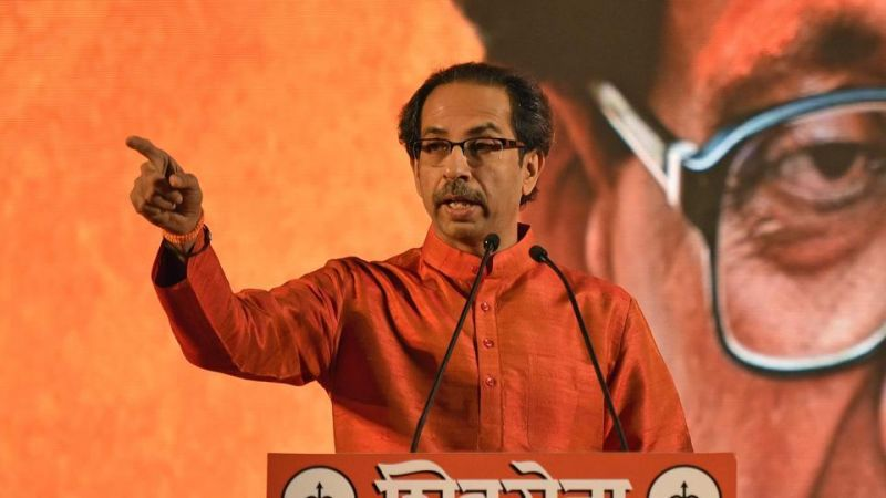 अमित शाह के नामांकन कार्यक्रम में पहुंचे शिवसेना प्रमुख ठाकरे, कहा- भाजपा के साथ नहीं है मतभेद