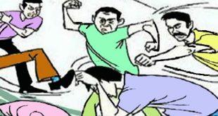 कांग्रेसियों ने थाने में हमला करके एसएचओ से की मारपीट और साथी को छुड़ाया, 3 कर्मी घायल