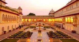 राजस्थान के जोधपुर शहर में मेहरानगढ़ किला