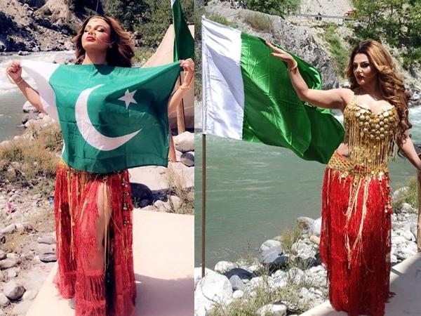 Photo of 'धारा 370' में ऐसा है किरदार राखी सावंत ने बताया, पाकिस्तानी झंडे के पोस्ट की तस्वीरें