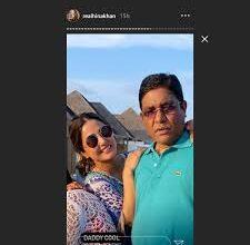 Photo of एक्ट्रेस हिना खान ने पैरेंट्स-बॉयफ्रेंड संग शेयर की मालदीव वेकेशन की ये तस्वीरें