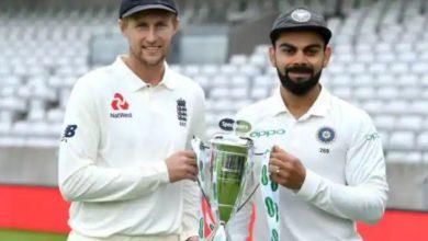 Photo of साल 2021 में इंग्लैंड के खिलाफ 5 मैचों की टेस्ट सीरीज खेलेगा भारत, शेड्यूल हुआ जारी