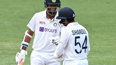 Photo of भारतीय टीम के ऑलराउंडर वॉशिंग्टन सुंदर ने नंबर 7 पर डेब्यू मैच में ठोकी फिफ्टी, रचा इतिहास