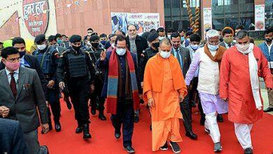 Photo of सीएम योगी ने किया हुनर हाट का उद्घाटन, देश भर के शिल्पकार और दस्तकार होंगे शामिल