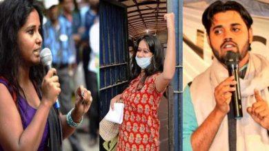 Photo of दिल्ली दंगे: नताशा नरवाल, आसिफ इकबाल तन्हा और देवांगना कालिता को HC से मिली जमानत