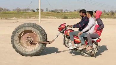 Photo of ये हैं दुनिया की सबसे अनोखी बाइक, VIDEO देख हो जाओगे हैरान…