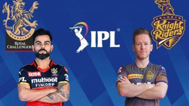 Photo of IPL के दूसरे चरण में KKR और RCB के बीच कड़ी टक्कर