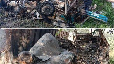 Photo of कानपुर-सागर हाईवे पर ट्रेलर और ट्रक की भिड़ंत में आग लगने से दो चालकों व एक परिचालक की जिंदा जलकर हुई मौत…