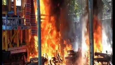 Photo of मंदिर में तोड़फोड़ और लूटपाट के सिलसिले में चार गिरफ्तार, पुलिस ने 4000 से अधिक लोगों के खिलाफ मामला किया दर्ज