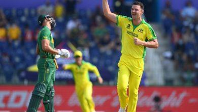 Photo of T20 World Cup के सुपर 12 राउंड में ऑस्ट्रेलिया और साउथ अफ्रीका के बीच चल रहा रोमांचक मुकाबला